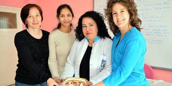 Farklı kıtalardan kadınların Kayseri mutfağı merakı