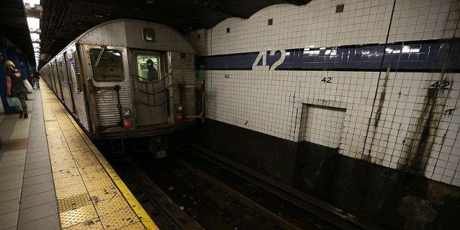 New York metrosunda büyük tehlike