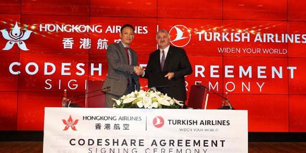 THY'den Hong Kong Havayolları ile ortak anlaşma!