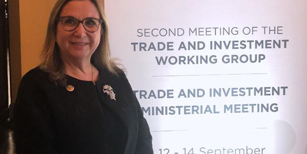 Ticaret Bakanı Pekcan Arjantin'de konuştu! 'Türkiye'nin ticaret stratejisinin temeli...'