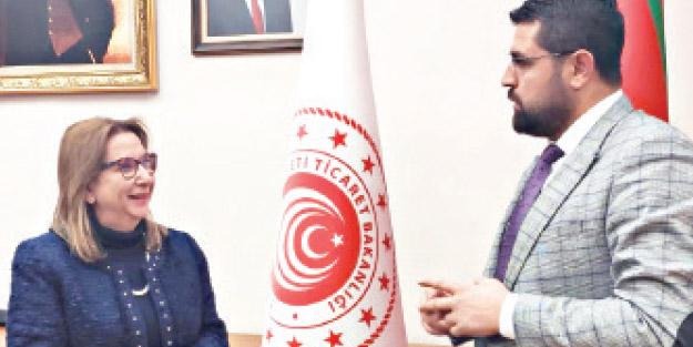 Ticaret Bakanı Ruhsar Pekcan Yeni Akit'e konuştu! Dijitalleşme ile süreçler hızlanıyor, şeffaflık artıyor