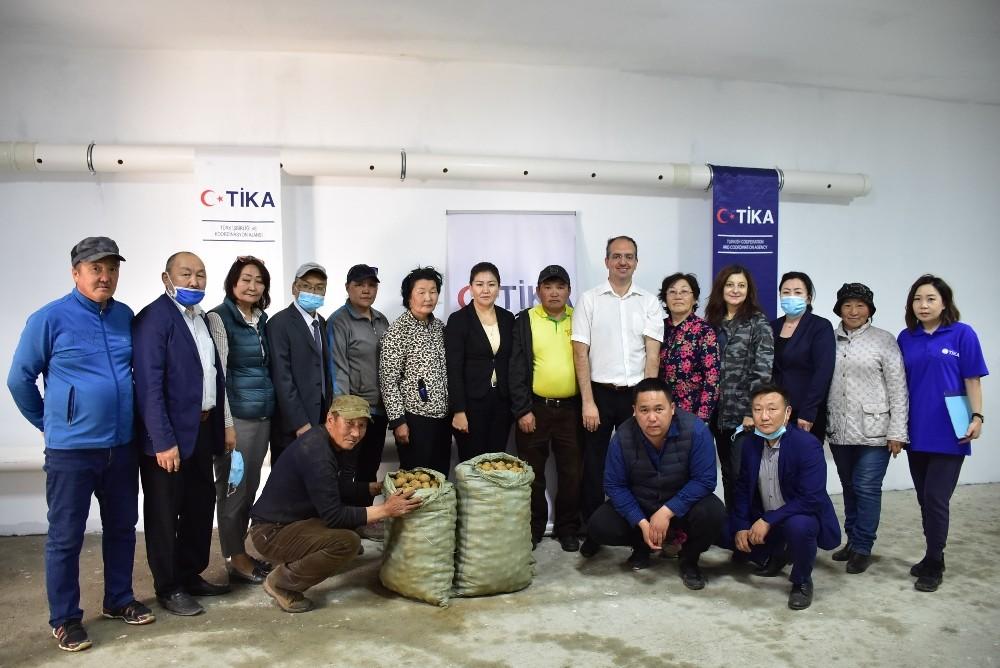 TİKA'dan Moğolistan'da tarıma destek