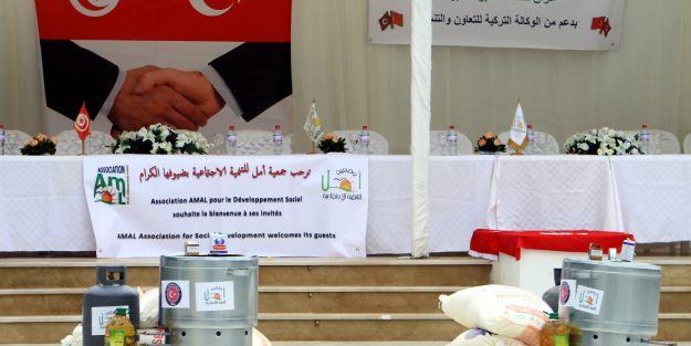TİKA'dan Tunuslu kadınlara destek