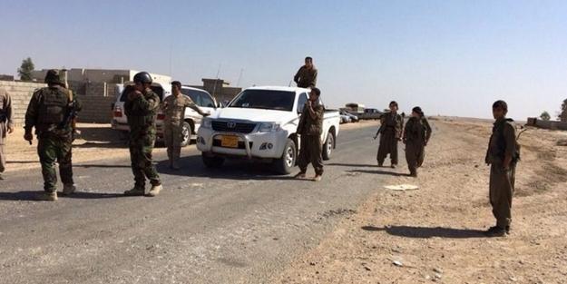 PKK'lı teröristler Kerkük'e girdi