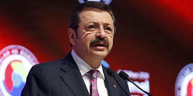 TOBB Başkanı Hisarcıklıoğlu: Dünyanın en değerli arazisi akıllı telefonun ekranıdır
