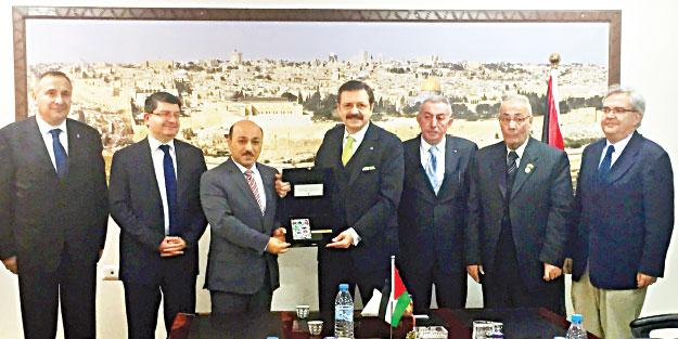 TOBB, Filistin ile işbirliği konusunda kolları sıvadı