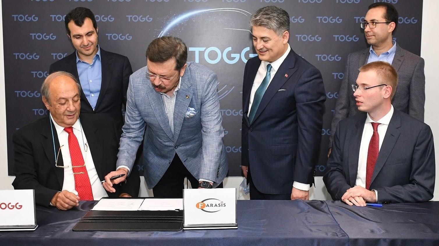 TOGG batarya paketinde iş ortağı olarak Farasis'i seçti