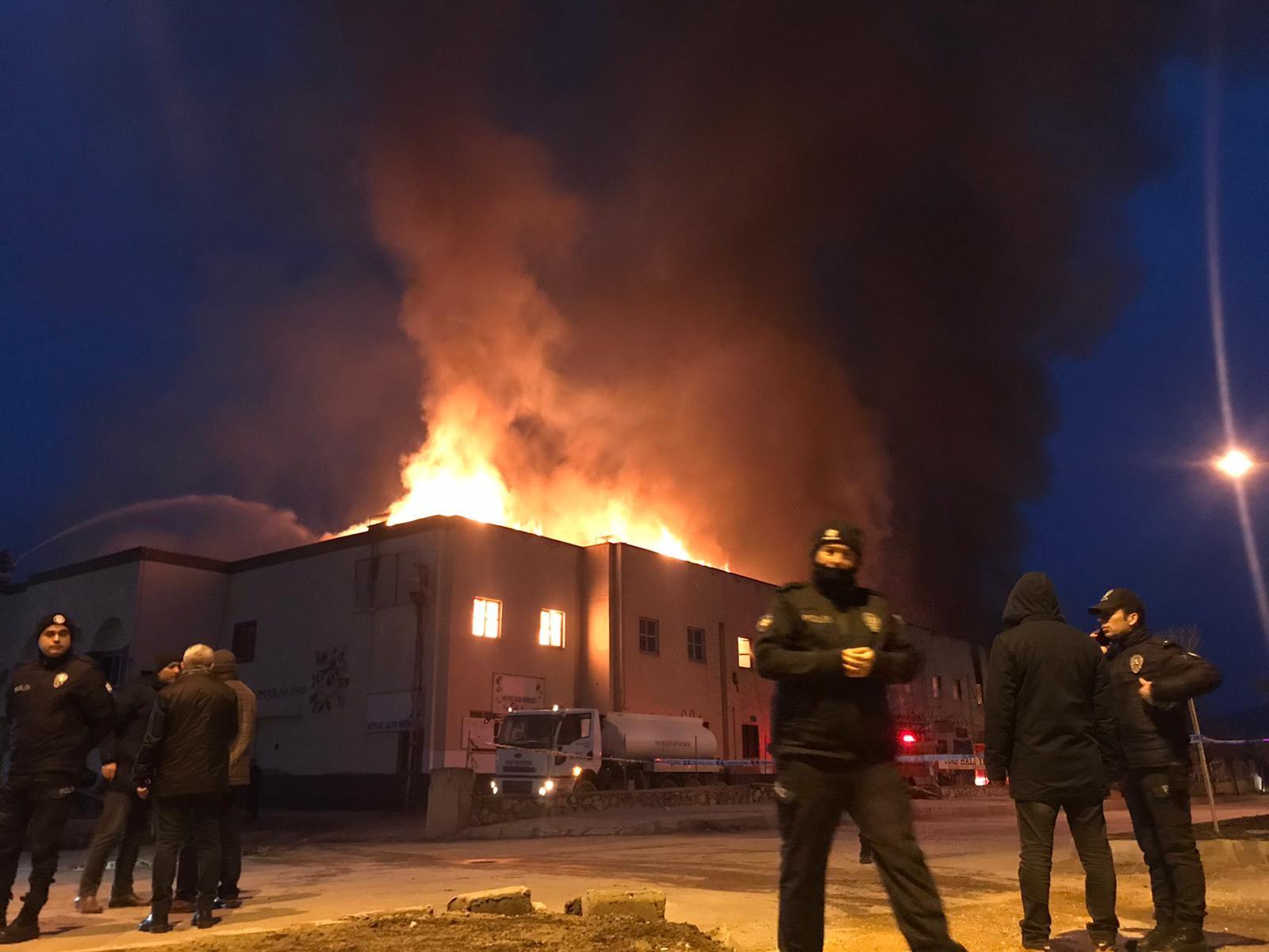 Tokat'ta feci yangın!