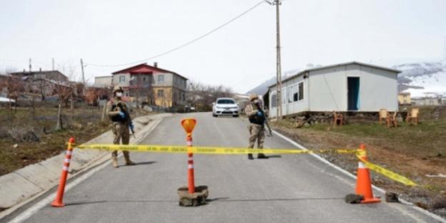Tokat'ta bir köy koronavirüs nedeniyle karantinaya alındı