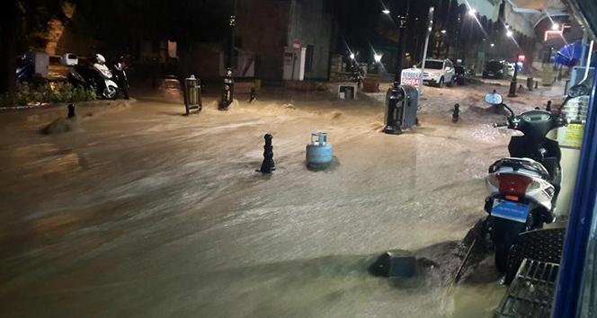 Tokat'ta sağanak yağış...