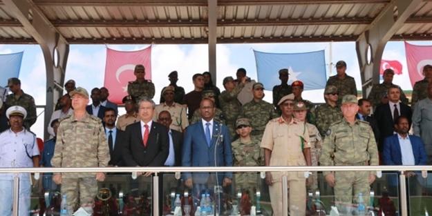 Tören gerçekleştirildi! Türk komutanlar bizzat katıldı