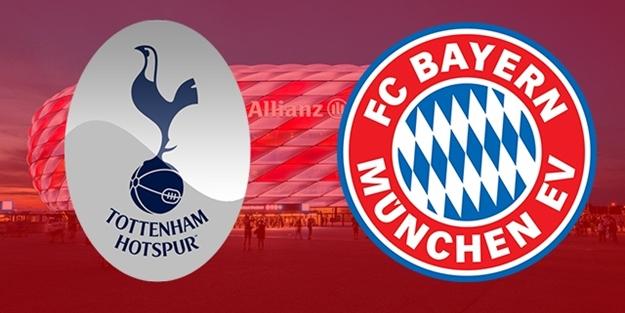 Tottenham Bayern Münih maçı ne zaman saat kaçta hangi kanalda?