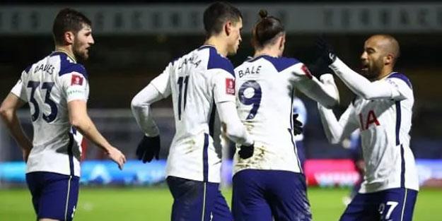 Tottenham, FA Cup'ta 5. tura çıktı