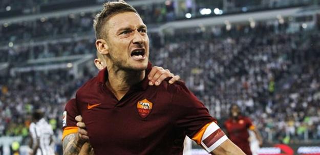 Totti, Roma'ya rekorlarını bıraktı