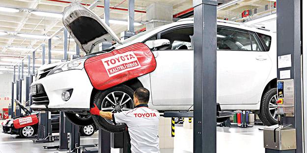 Toyota'dan avantajlarla dolu sonbahar bakım kampanyası
