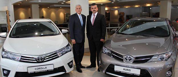Toyota'nın yeni araçları Gaziantep'te tanıtıldı