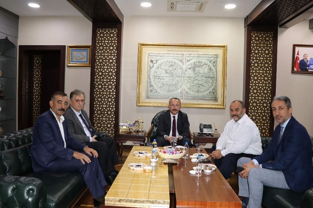 TP Genel Müdürü Melih Han Bilgin, Vali Atik'i ziyaret etti