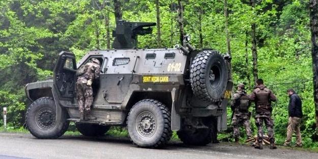 Trabzon'da PKK ile sıcak çatışma! Acı haber geldi