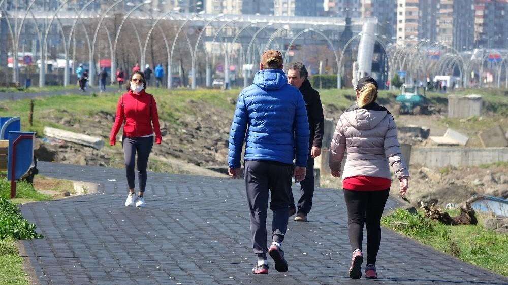 Trabzonlular Korona virüs önlemlerini dikkate aldı, sokağa çıkmadı