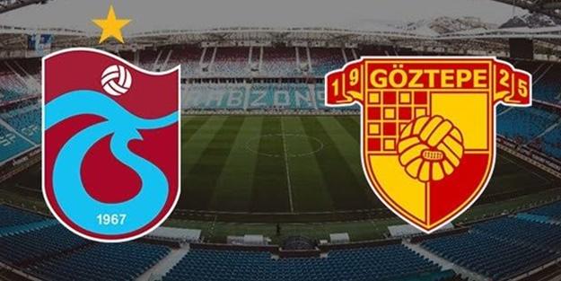 Trabzonspor Göztepe maçı muhtemel 11'leri
