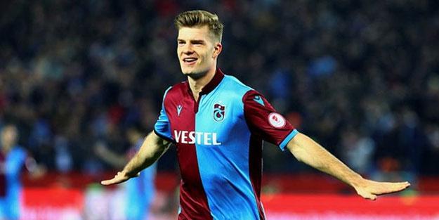Trabzonspor Sörloth transferini resmen açıkladı