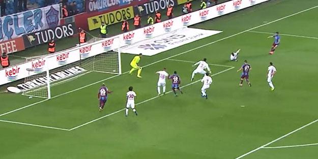 Trabzonspor uzatmalarda kurtardı