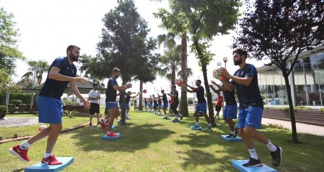 Trabzonspor yeni sezon hazırlıkları devam ediyor