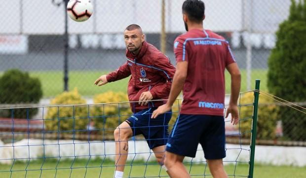 Trabzonspor'da Burak sevinci