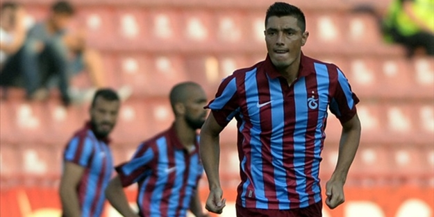 Trabzonspor'da Cardozo sevinci