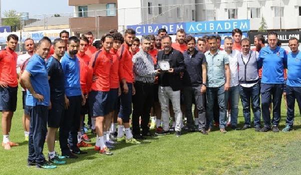 Trabzonspor'da Mandıralı veda etti