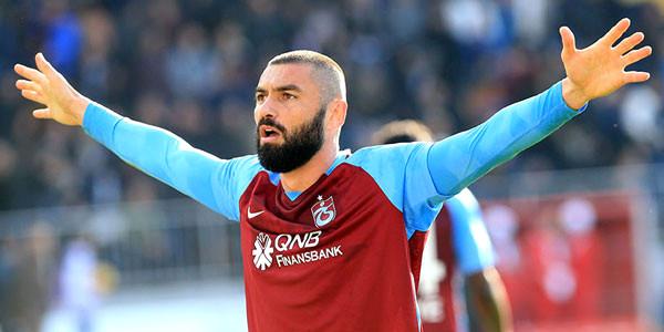 Trabzonspor'dan flaş Burak Yılmaz kararı
