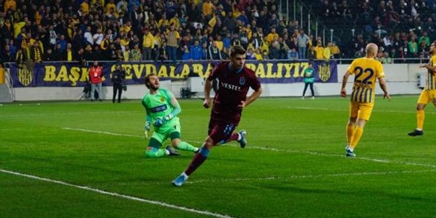 Trabzonspor'dan gollü galibiyet!
