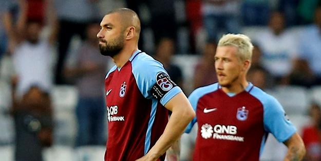 Trabzonspor'dan son dakika Burak Yılmaz açıklaması! Burak Yılmaz hastaneye mi kaldırıldı?