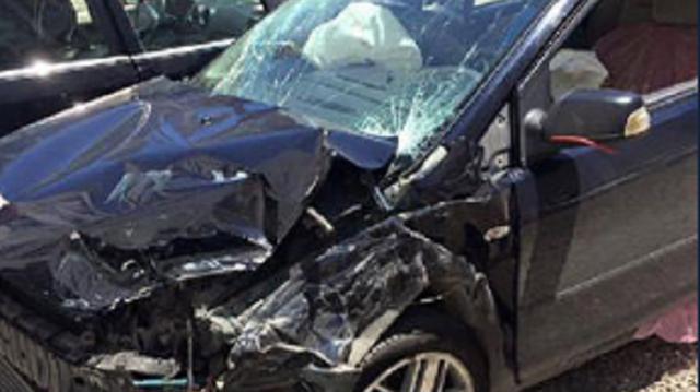 Trabzonsporlu Demir trafik kazası geçirdi