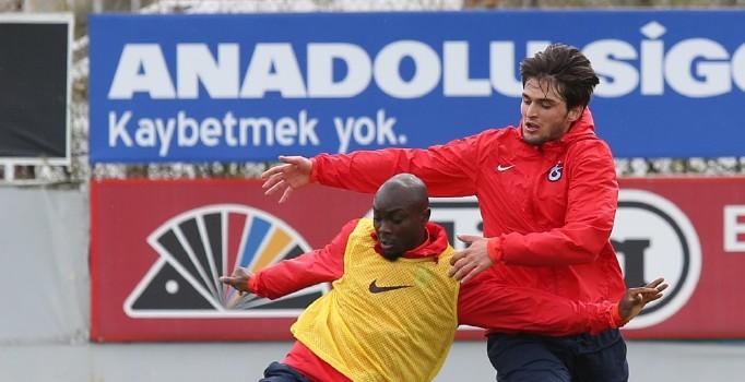 Trabzonspor'un idmanlarındaki rekabet ortamı Mandıralı'yı sevindiriyor