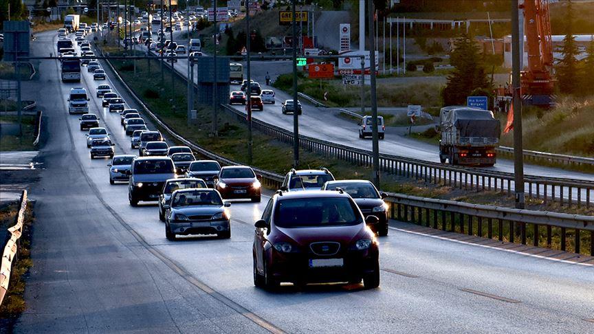 Trafiğe 10 ayda 540 bin 469 araç kaydedildi