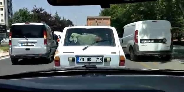 Kurban Bayramı öncesi trafikte renkli görüntüler