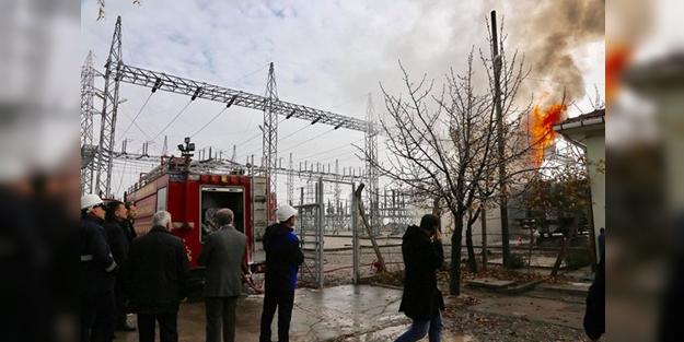 Trafo patlaması nedeniyle fabrikalarda üretim durdu