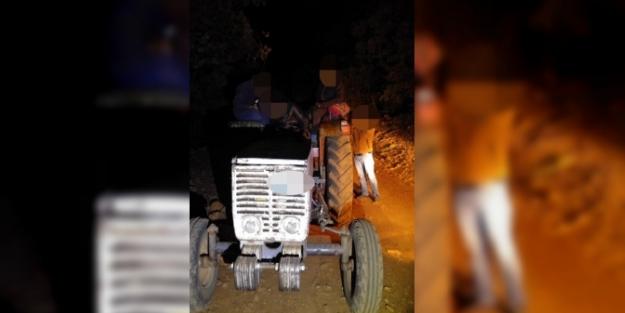 Traktörle 'far avı' yapan 3 kaçak avcıya 10 bin lira ceza