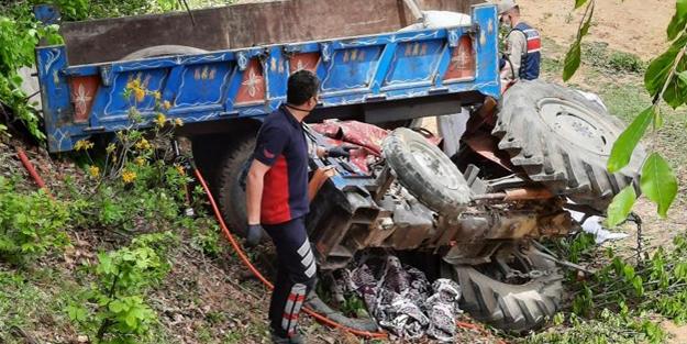Traktörü durdurmak istemişti... Feci ölüm!
