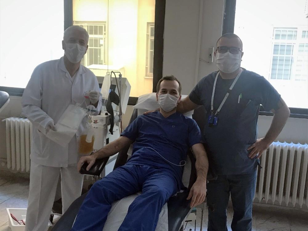 Trakya Üniversitesi Hastanesinde immün plazma tedavisi başladı