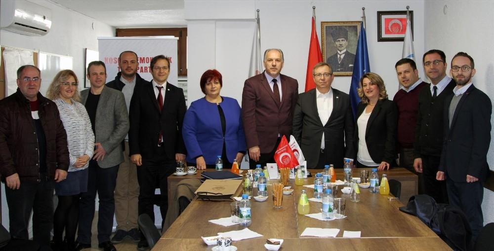 Trakya Üniversitesi heyeti, Prizren ve Türk köyü Mamuşa'da