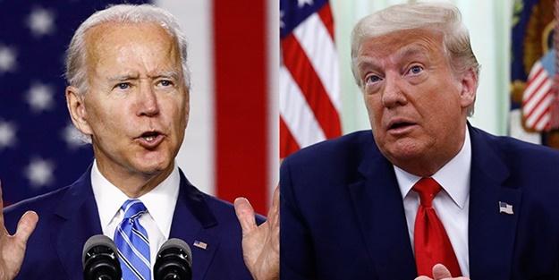 Trump Biden'ın Beyaz Saray'a girebilmesi için şart koştu