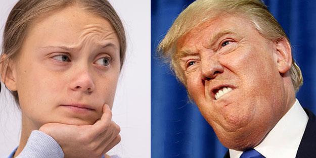 Trump Greta'yla fena kafa buldu!