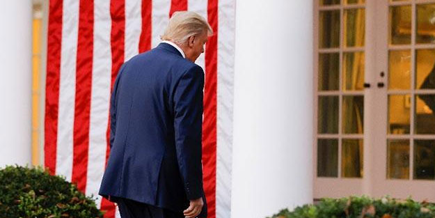 Trump pes etti! Talimatı verdi