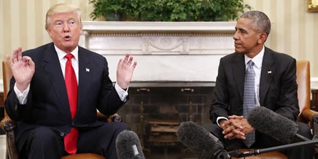 Trump'tan Obama'ya olay gönderme: Rusya senden arakladı