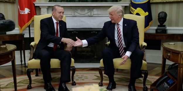 Trump: Türkiye'yi PKK ve DAEŞ'e karşı destekliyoruz