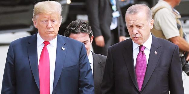 Trump yolladı, Erdoğan çöpe atarak reddetti!