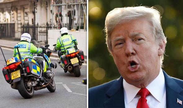 Trump ziyareti için büyük operasyon