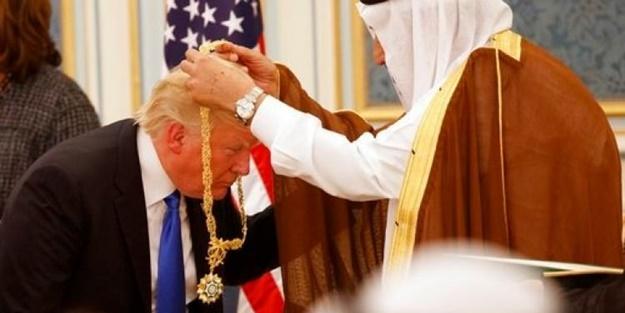 Trump'ın Arabistan ziyaretine damga vuran fotoğraf